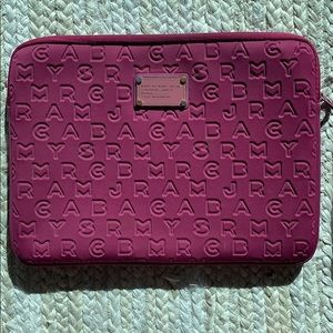 MARC BY MARC JACOBS 'Dreamy Logo' Laptop Sleeve
